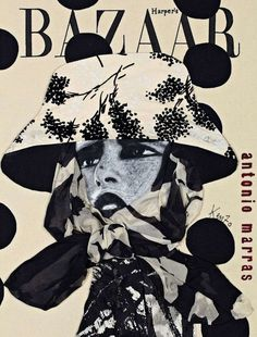 Harper`s Bazaar Russia 15th Anniversary by Antonio Marras October 2011 #cover #illustration #fashion #bazaar #magazine
