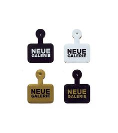 Neue Galerie | Pandiscio Co. #branding #typography