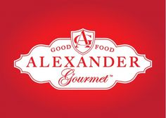 Alexander Gourmet #logo #brand #alexander #gourmet