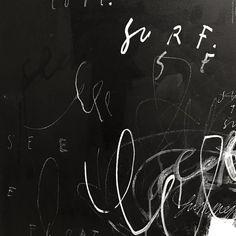 FLOAT • #originalartwork #blackliststudio #typography #painting #artwork #blacklist