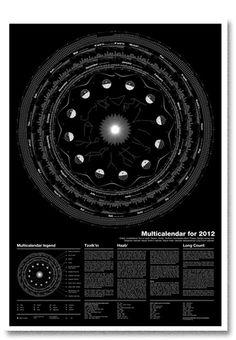 Multicalendar for 2012