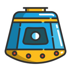 See more icon inspiration related to science, space capsule, transportation, automobile, vehicle and transport on Flaticon.