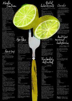 PACO-001.jpg (984×1378) #handwriting #bartling #sebastian #bacigalupe #litograph #moa #lemon #fork