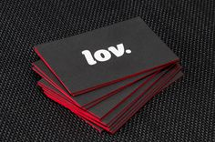 LOV Business Cards #businesscard