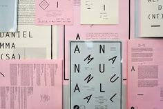 Object Gallery | COÖP #design #typography