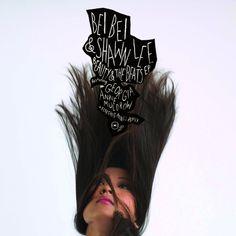 album cover : ASHKAHN Studio + Company #typography #type
