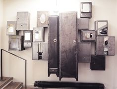 Tumblr #lockers #furniture #design #vintage