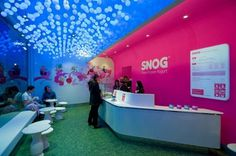 Dezeen » Blog Archive » Soho Snog by Cinimod Studio #interior #design #arquitecture #restaurant