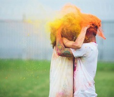 Paint Your Partner with the Color of Love