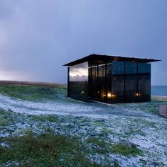 Steilneset Memorial by Peter Zumthor and Louise Bourgeois #mirror #architecture