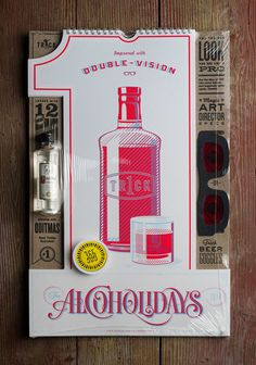 lovely package alcoholidays 1 #packaging #design #graphic