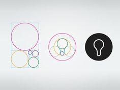 Golden ratio logo by Andrew Becker