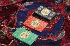 Swank, packaging, pattern