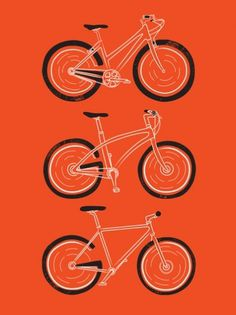 Go Go Go Art Print by Marcoooooo | Society6 #illustration #bike #poster