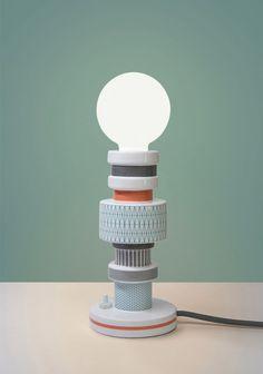 alessandro zambelli moresque alhambra seletti designboom #lamp