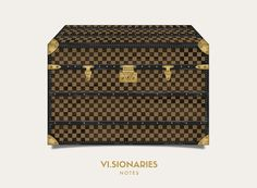 VI.SIONARIES trunk collection #trunk #card #luggage #louis #vuitton