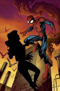Spiderman comics art