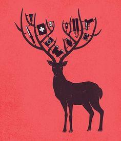5169127463_8186d1b5b2_z.jpg 546×640 pixels #elk #deer #fawn