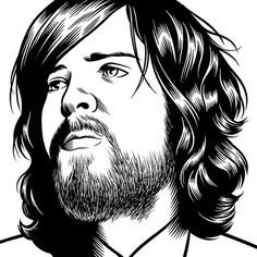 Devendra banhart #illustration #charles #burns