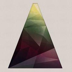 """Precious stone"" logo device #dribbble #polygon #geometric #illustration #logo"