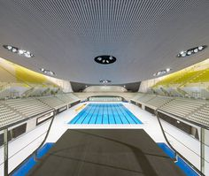 London Aquatics Centre - Architecture - Zaha Hadid Architects #pool #architecture #swim
