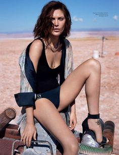 Catherine McNeil by Josh Olins #fashion #photography #inpiration