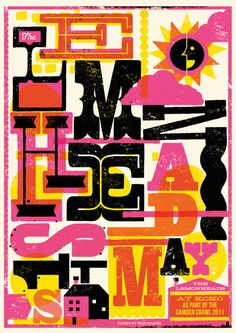 Telegramme #gig poster #screen print