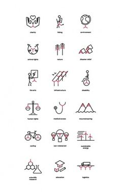 Design Work Life » cataloging inspiration daily #icons