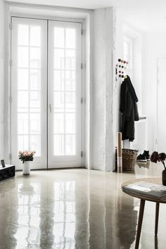 Floors in the Interior Design by Photographer Peter Kragballe