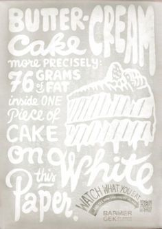 Barmer Gek: Fat Posters, 5 #chalk #poster