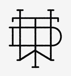 Detroit Wood Type Co. #mark #logo #vector #monogram