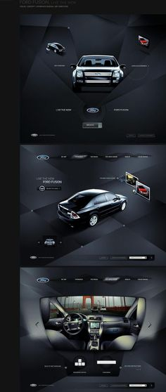 Ford web design #ford #design #digital #web #car