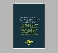 The Client is Always Right Posters8 #design #graphic #client #poster #typography
