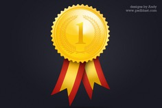 Gold medal icon Free Psd. See more inspiration related to Gold, Icon, Medal, Gold medal and Horizontal on Freepik.
