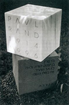 FormFiftyFive – Design inspiration from around the world » Blog Archive » Designer headstones #rand #grave #headstone #paul