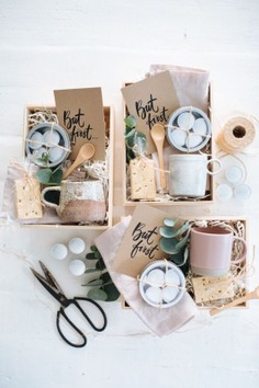 Make These Easy Gift Boxes For The Coffee Lover In Your Life - gift box ideas