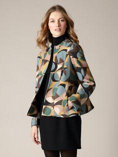 Marni Wool Crepe Futuristic Jacket