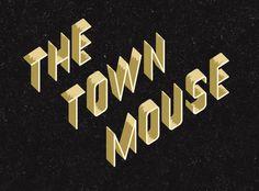 Thetownmouse_pic1v1_bannerdark #lettering #signpainter #vintage #logo #typography