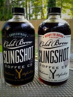 Packaging / Slingshot Coffee, designed by Dapper Paper.