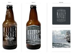 Northbound Brewing Co. #packaging #beer #label #bottle