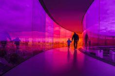 Rainbow panorama #aarhus #panorama #aros #denmark #rainbow