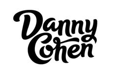 Danny Cohen by Rob Clarke Typography #clarke #rob #lettering #script #typography