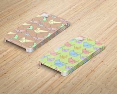 Phone Cases with Origami Patterns