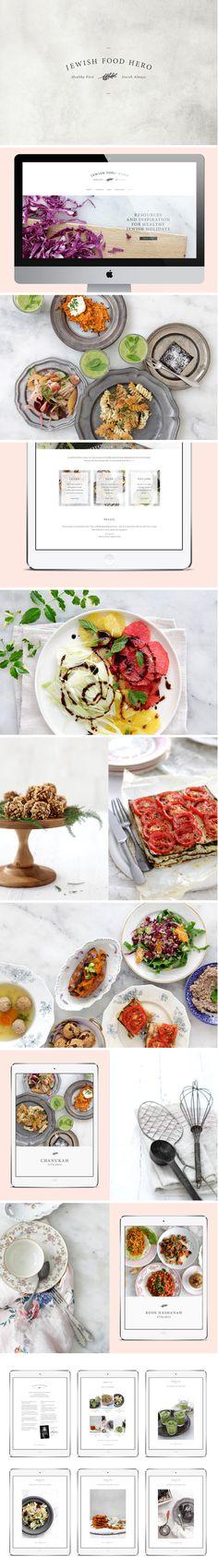 Jewish Food Hero Brand Identity - One Plus One Design #Website #Design #Brand #Identity #BrandIdentity #Branding