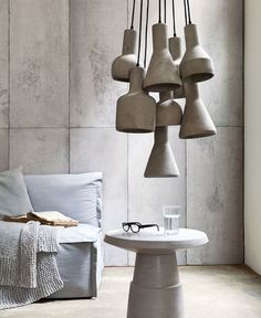 Decorative Concrete Design for Modern Interiors - #design, #productdesign, #industrialdesign, #objects, #concrete, #lamps