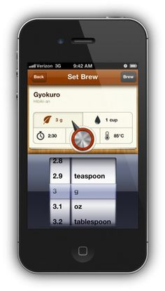 Tea for iPhone #iphone #app #for #tea #ios