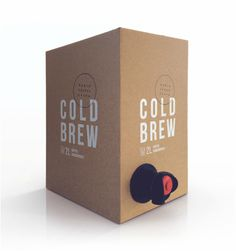 Darlo Cold Brew #coldbrew #coffee #packaging
