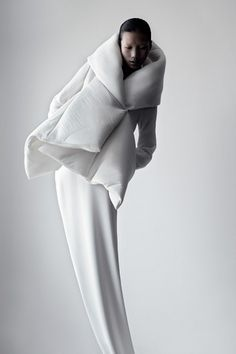 Qiu Hao F/W 2011 Serpens on the Behance Network #fashion #photography #black and white #china #matthieu belin