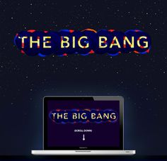 The Big Bang #infographic #big #the #webdesign #science #bang