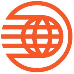 Epcot_Spaceship_Earth_Logo.png (PNG Image, 300x300 pixels) #lines #red #stripes #orange #cirlces #logo